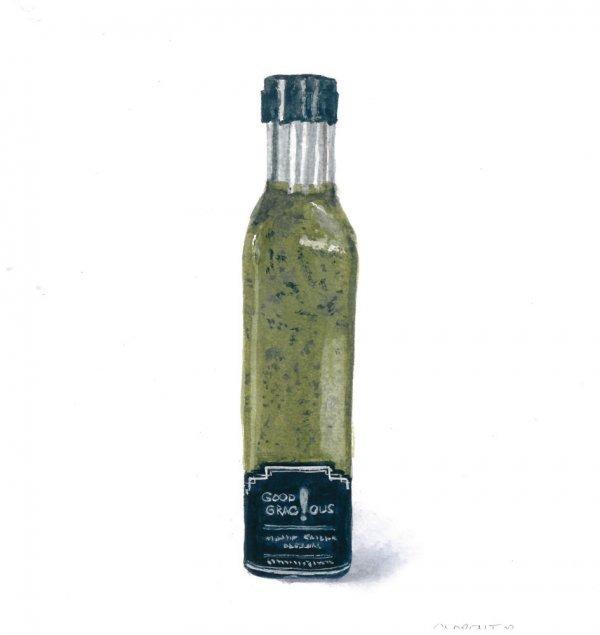 Salad Dressing Scallion Poppyseed