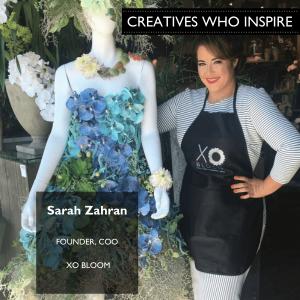 Sarah Zahran of XO Bloom