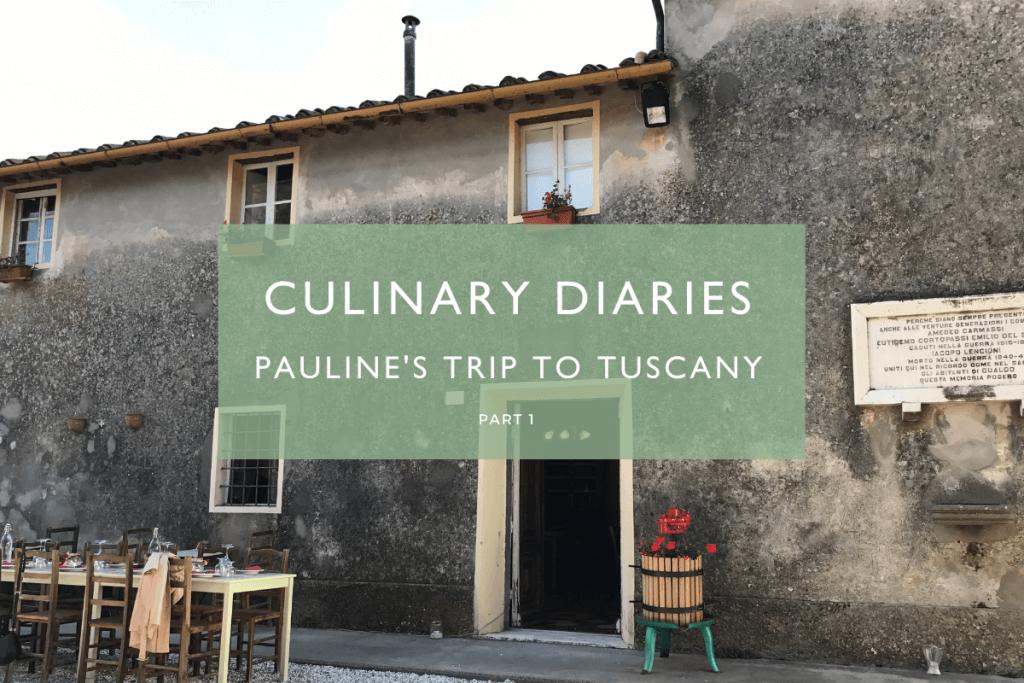 trip to tuscany