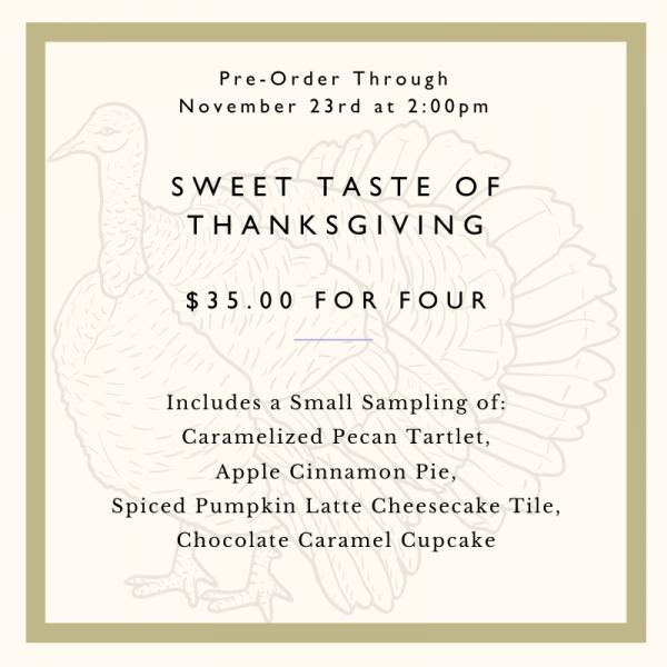 Sweet Taste of Thanksgiving