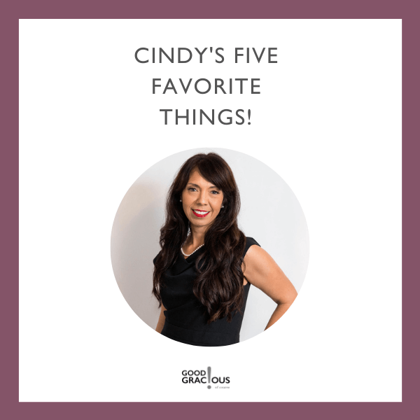 cindy celis five favorite things with her headshot