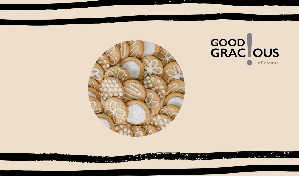 good gracious holiday cookies