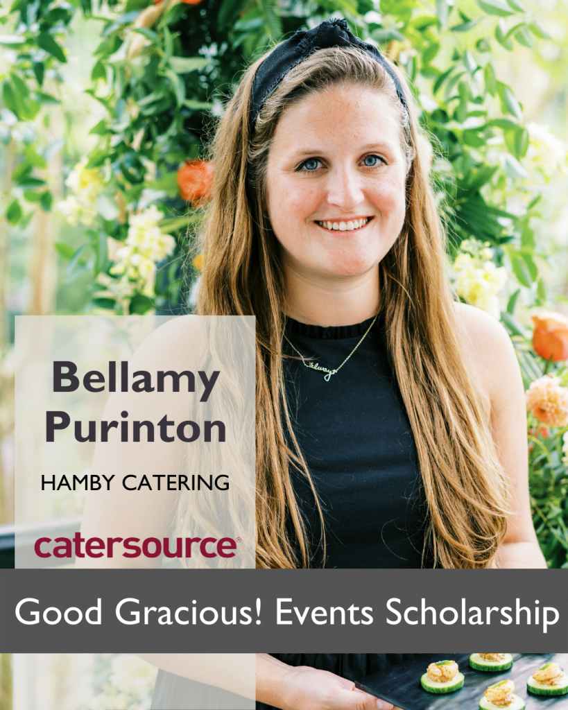 Bellamy Purinton of Hamby Catering and Events